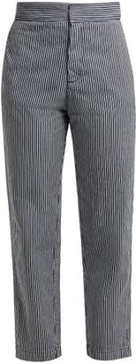 Masscob Esparta Striped Denim Trousers - Womens - Multi