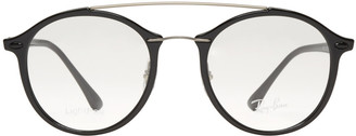 Ray-Ban Black Double Bridge Glasses $200 thestylecure.com