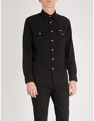 CK Calvin Klein Archive Western regular-fit cotton shirt