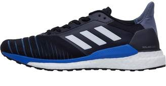 Mens Solar Glide Neutral Running Shoes Core Black/Footwear White/Hi-Res Blue