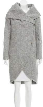 Zac Posen Camilla Wool Coat w/ Tags