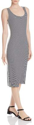 Aqua Striped Ribbed-Knit Tank Dress - 100% Exclusive