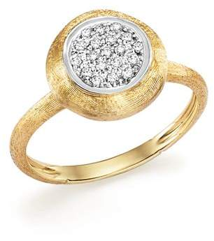 Marco Bicego 18K White and Yellow Gold Jaipur Ring with Diamonds