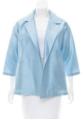 Max Mara Silk Shantung Jacket