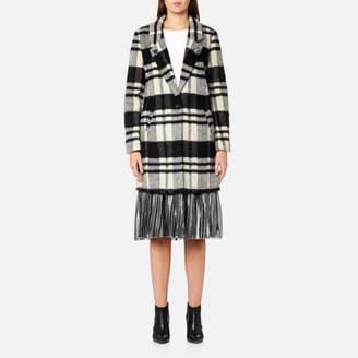 Maison Scotch Women's Bonded Wool Coat