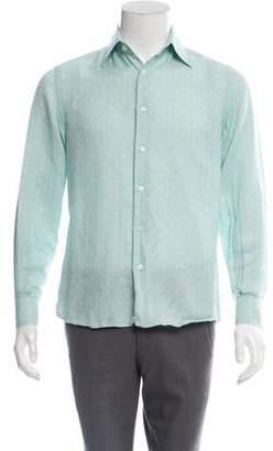 Valentino Polka Dot Print Dress Shirt