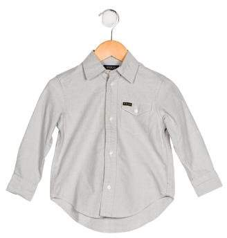 Polo Ralph Lauren Boys' Collared Button-Up Shirt w/ Tags