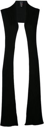 Pierantonio Gaspari Pierantoniogaspari long ribbed knit gilet