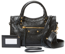 Balenciaga  Classic City Mini Leather Satchel