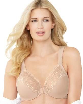 Glamorise Bra: Front-Closure Wonderwire Bra 1245 - Women's