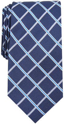 Club Room Men's Grid Tie, Created for Macy's