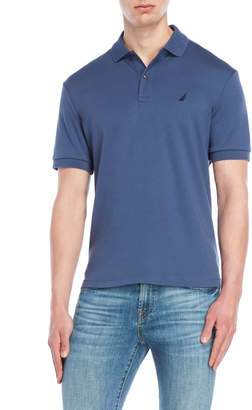 Nautica Solid Interlocked Polo