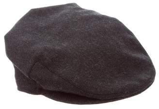 Burberry Wool Newsboy Hat