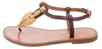 Valentino Rubin Embellished Sandals