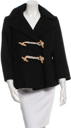Boy. by Band of Outsiders Hooded Wool Coat $145 thestylecure.com