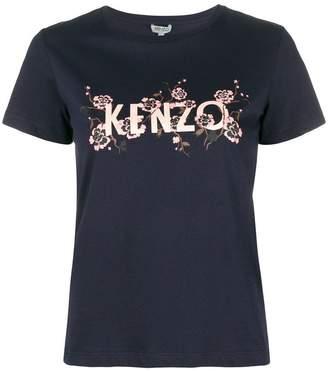 Kenzo floral logo T-shirt