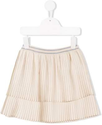 Bellerose Kids layered skirt