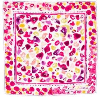 Louis Vuitton Watercolor Silk Scarf