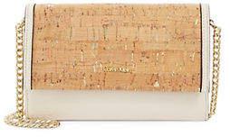 Calvin Klein Cork Faye Flap Crossbody Bag