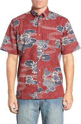 Reyn Spooner Kyoto Ponds Regular Fit Sport Shirt