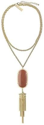 Kendra Scott Rayne Goldstone Necklace