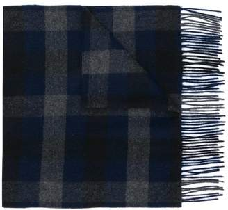 Theory checked scarf