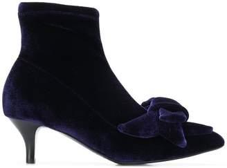 Alberto Gozzi bow embellished boots