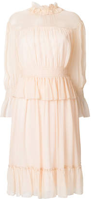 See by Chloe shirred waist dress