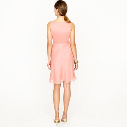 Evie dress in silk chiffon 2