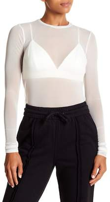 KENDALL + KYLIE Kendall & Kylie Mesh Top with Bra