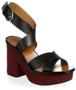 Joie Tanglee Leather Ankle-Strap Sandals
