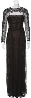 Alberta Ferretti Lace Maxi Dress w/ Tags