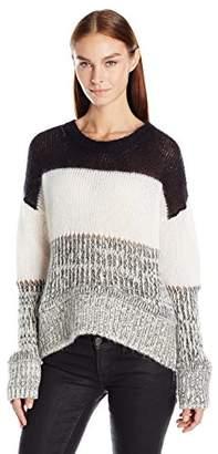 Just Cavalli Women's Chunky Knit Striped Sweater