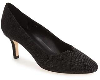 Women's Vaneli 'Linden' Almond Toe Pump $149.95 thestylecure.com