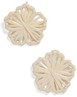 BaubleBar Polliana Flower Stud Earrings