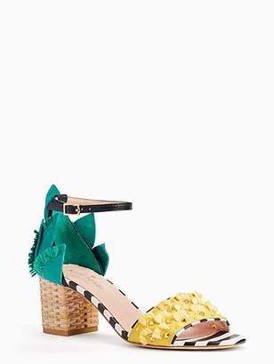 b51d43355329 Kate Spade White Heeled Women s Sandals - ShopStyle