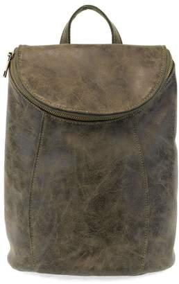 Joy Susan Olive Distressed Backpack