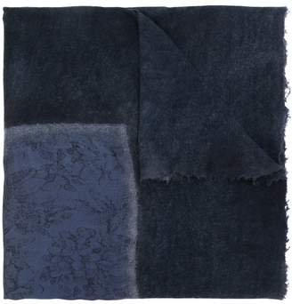 Avant Toi cashmere printed scarf