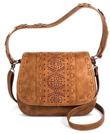 Mac + Jac® Mosaic Design Cross-body Bag - Brown