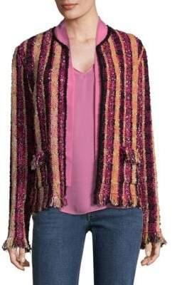 Etro Tweed Knit Jacket