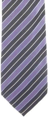 Dolce & Gabbana Striped Silk Tie