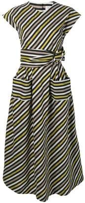Isa Arfen sash pocket dress