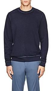 ATM Anthony Thomas Melillo Men's Cotton Terry Sweatshirt-Blue