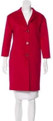 Gucci Wool & Angora-Blend Coat