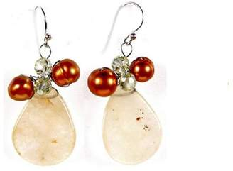 Ananda Handcrafted Petal Earrings