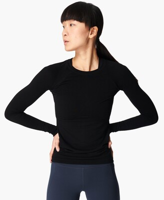 Sweaty Betty Glisten Bamboo Long Sleeve Workout Top
