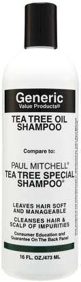 Paul Mitchell Generic Value Products Tea Tree Oil Shampoo Compare to Tea Tree Special Shampoo 16 oz.