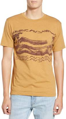 RVCA Warped Palm Graphic T-Shirt
