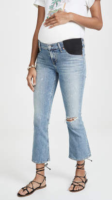 Citizens of Humanity Mid-rise Demy Cropped Flare Jeans