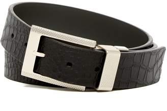 Robert Graham Garrison Reversible Leather Belt
